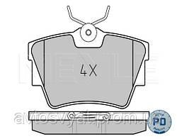Колодки тормозные (задние) Renault Trafic/Opel Vivaro 01-