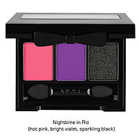 NYX LIR11 Love in Pio Shadow Palette Nighttime in Rio - Палитра теней для век, 3 г