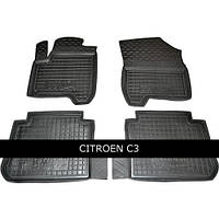 Килимки в салон Avto Gumm 11141 для Citroеn C-3 Picasso 2010-