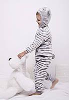 Пижамы кигуруми для детей, махровый костюм. 1930KAY В наличии 104,110,116 Рост.