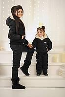 """Детский дутый спортивный костюм (куртка и комбинезон) """" Kids The North Face """" Dress Code, фото 1"""