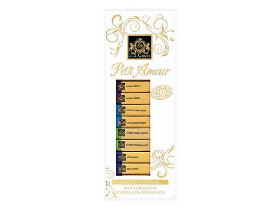Набор шоколадок 16шт. Petit Amour J.D.Gross, 200г, фото 2