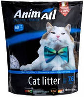 AniMall (АнимАлл) Голубой аквамарин 7.6л (3.3кг) - силикагелевый наполнитель для кошек