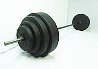 Штанга 100 кг, гриф 30 мм  Ø