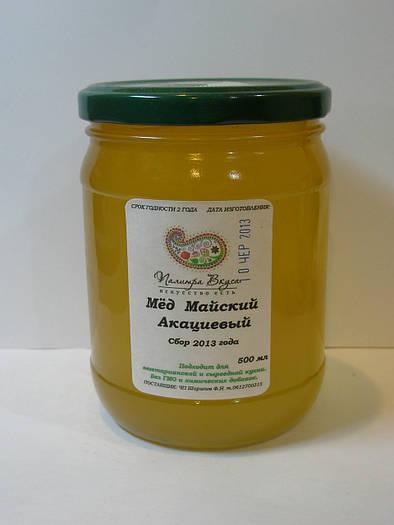 Мёд Майский (акация 70%, цветочный 30%) 550 мл