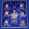 Набор бокалов для виски со штофом «Герб Украины» (7 предметов), фото 3
