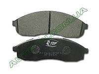Тормозные колодки дисковые передние ниссан