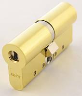 Цилиндр Abloy Protec 2 122мм.(51х71) к/к латунь СY 322