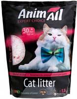 AniMall (АнимАлл) Розовый лепесток 3.8л (1.8кг) - силикагелевый наполнитель для кошек