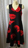 Платье элегантное миди D Perkins р.48 7339