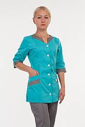 Медицинский костюм на пуговицах с 40 до 68 размера