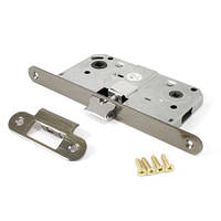 Защелка под ручку и фиксатор для межкомнатных дверей Apecs 5300-WC-AB (бронза)