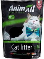 AniMall (АнимАлл) Зеленый изумруд 5л (2.2кг) - силикагелевый наполнитель для кошек
