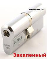 Цилиндр Abloy Protec 2 Hard 62мм.(31х31) к/к никель СY 332
