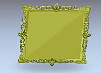 3д д модель рамы зеркала картины
