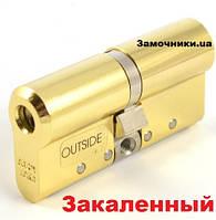 Цилиндр Abloy Protec 2 Hard 107мм.(36х71) к/к латунь СY 332