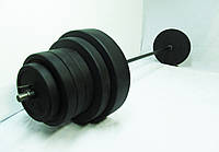 Штанга 115 кг, гриф 30 мм  Ø