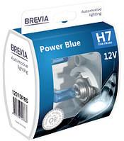 """Автомобильные галогенные лампы """"Brevia"""" (H7)(Power Blue)(+20%)(4200K)(12V)(55W)"""