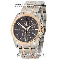 Часы мужские наручные Tissot T-Classic Couturier Chronograph Steel Alt Silver-Gold-Gold-Black