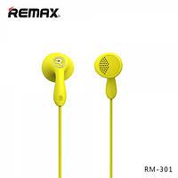 Наушники Remax Candy RM-301 желтый, фото 1