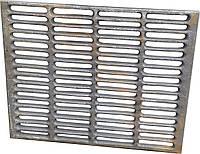Решетка чугунная гриль-барбекю чугунная 340 х 425 мм.