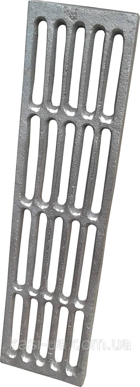 Решетка наборная чугунная гриль-барбекю 105 х 425 мм.