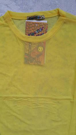 Блуза-сеточка на девочек Лимончик, фото 2