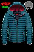 Бирюзовая куртка зима мужская Мос