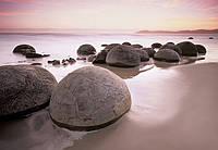 Фотообои природа, Валуны Моераки №285 366x254см (Клей в комплекте) W+G