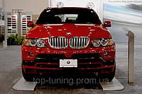 Юбка переднего бампера BMW  X5  E53 99-06
