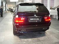 Юбка заднего бампера BMW » X5 » E53 99-06