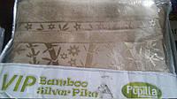 Махровая простынь бамбуковая полуторка