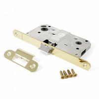 Защелка под ручку и фиксатор для межкомнатных дверей Apecs 5300-WC-G (золото)
