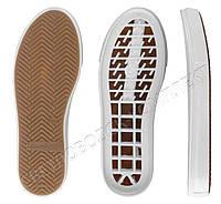 Подошва для обуви Люси (Lusi) ТР, цв. белый с бежевым