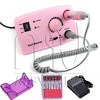 Профессиональный фрезер DM-211 для маникюра и педикюра 30 Вт и 35000 об./мин. (pink)