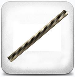 Труба рифлёная 2,0м д.25мм сатин