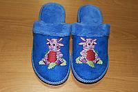 Детские домашние тапочки для девочки Белста с закрытым носочком Лунтик р-р 29-34