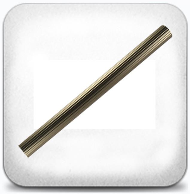 Труба рифлёная 2,0м д.19мм сатин