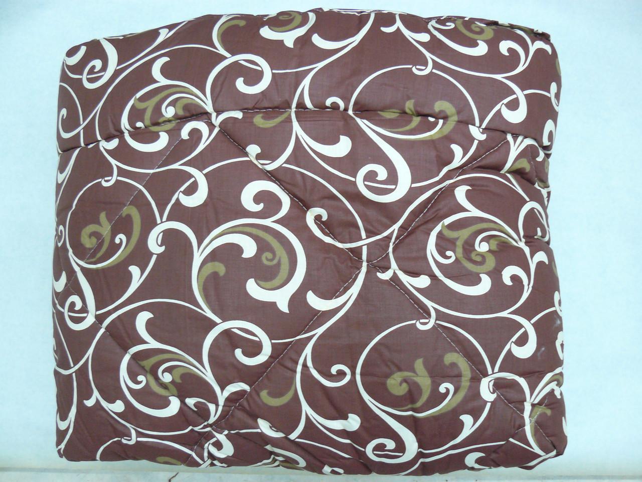 """Шерстяное одеяло VIVA """"Элит"""" 142х210, полуторное, бязь, 100% шерсть"""