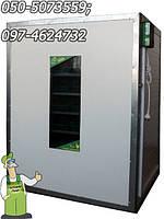 Инкубатор-автомат Господар на 1000 яиц с регулируемой влажностью, промышленный инкубатор для фермерского