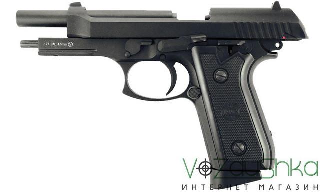 Пневматический пистолет beretta 92 fs Blowback