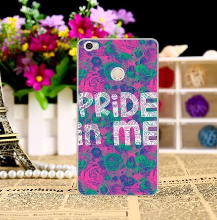 Силиконовый чехол накладка для Xiaomi Mi Max с картинкой Pride in me