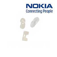 Пластик кнопки блокировки телефона для Nokia N97, оригинал (белый)