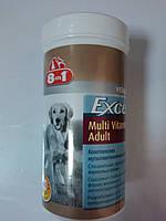 8in1 Excel (multi vitamin adult) мультивитаминная добавка для взрослых собак. 70таб.