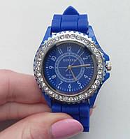 Синій годинник GENEVA