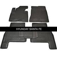 Коврики в салон Avto Gumm 11165 для Hyundai Santa-Fe  5 мест 2010-12