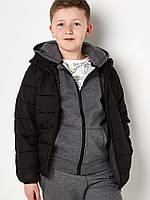 Дутая куртка (телогрейка) для мальчика 2-8 лет (6 размеров/уп.)