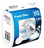 """Автомобильные галогенные лампы """"Brevia"""" (H1)(Power Blue)(+20%)(4200K)(12V)(55W)"""