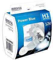"""Автомобильные галогенные лампы """"Brevia"""" (H1)(Power Blue)(+20%)(4200K)(12V)(55W), фото 1"""
