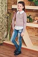 Блузка-рубашка  для девочки подростка
